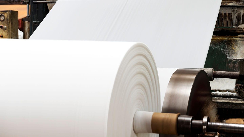 Paper production line